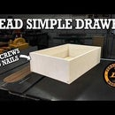 How to Make Dead Simple Drawers - No Nails and No Screws
