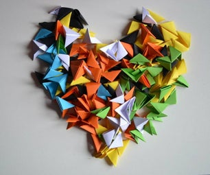3D Origami Pieces