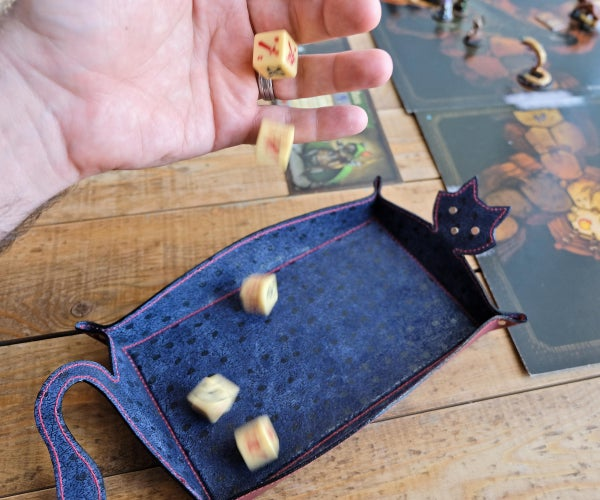 Silent Dice Tray