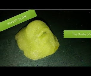 How to Make Yaphit From the Orville - DIY Slime