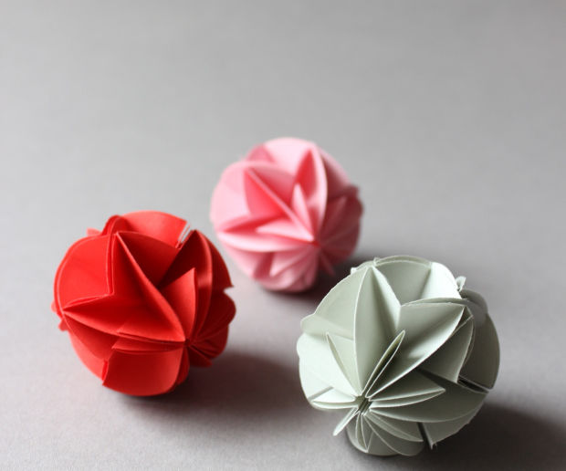 DIY - Origami Circuit Ball