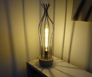 Concrete Base Table Lamp