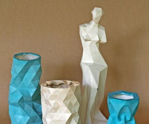 Casting With Molds Made With Papercraft Models