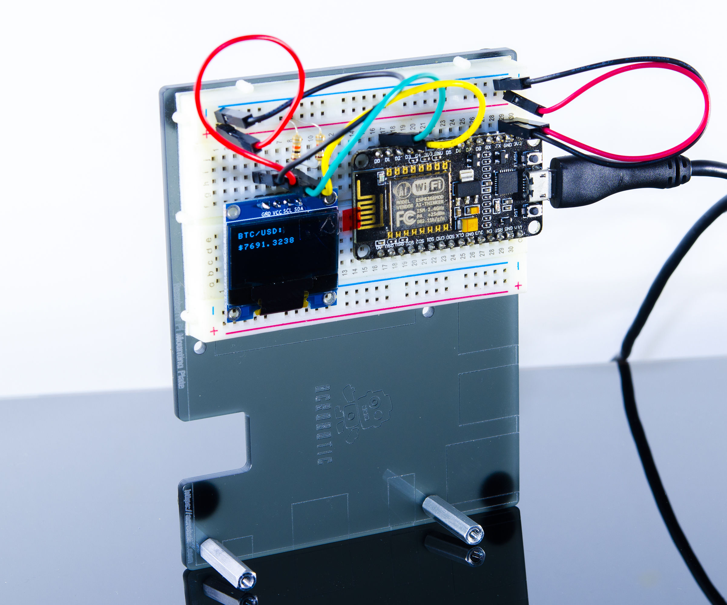 Build a Cryptocurrency Tracker With ESP8266 and Arduino