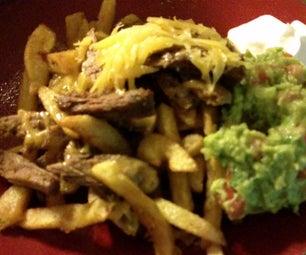 Carne Asada Fries and Breakfast California Burrito