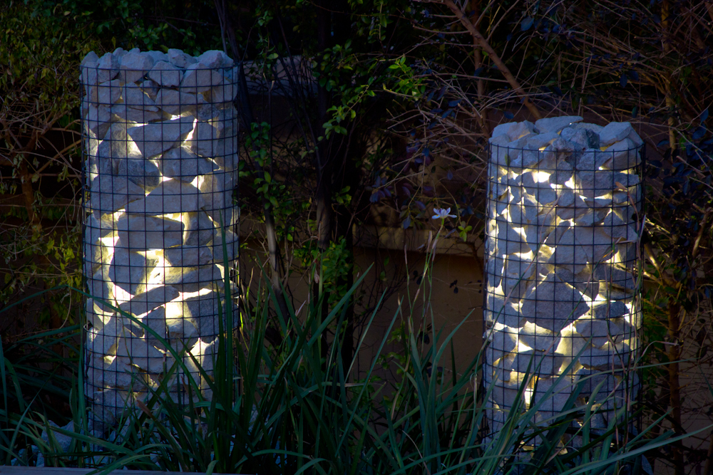 Rock garden lights