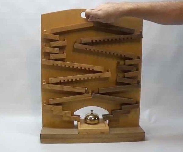 A Marble Machine Racetrack