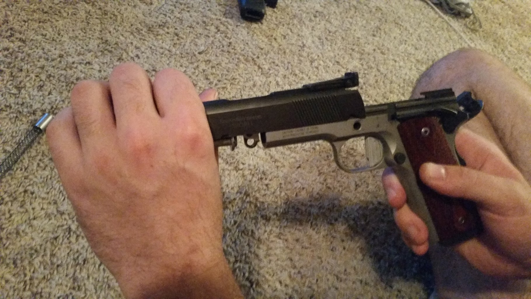 Slide Assembly to the Lower Frame