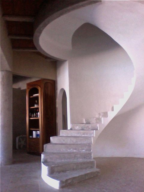 Floating Circular Concrete Staircase 8 Steps With Pictures Instructables