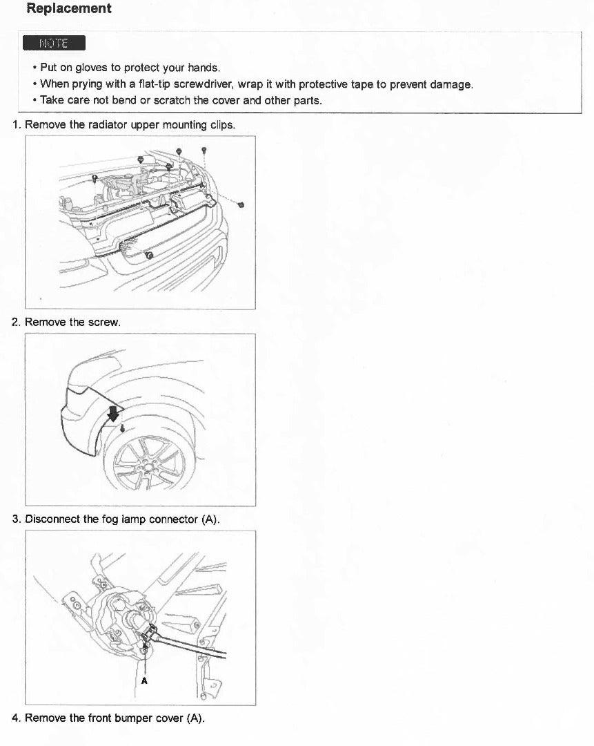 Step 1: Remove Your Bumper