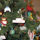 Christmas ornaments from toys!
