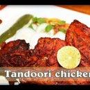 Tandoori Chicken in Microwave (Tandoori Murghi) Indian Grilled/ Roasted Chicken in Microwave
