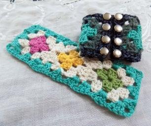 Interchangeable Granny Square Bracelet