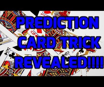 How to Do Awesome Prediction Card Trick