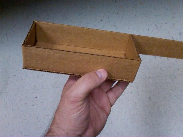 No-Measure Cardboard Display Shelves/ Boxes