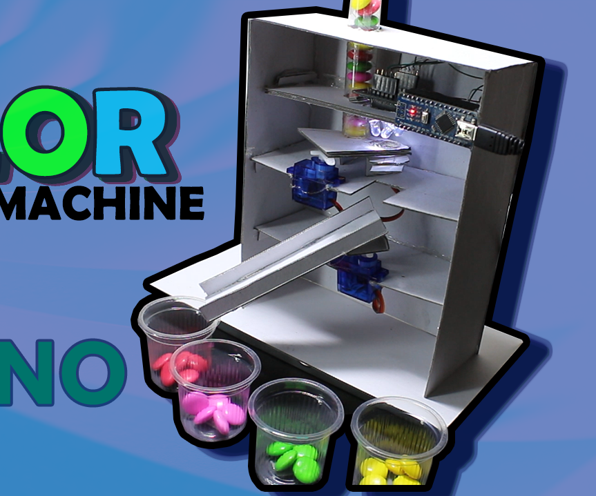 How to Make Color Shorting Machine Arduino Based