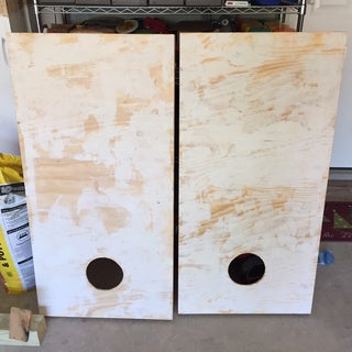 How to Build Your Very Own Cornhole Game Set.  (Also Called Throwing Bags or the Beanbag Game)