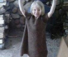 Little Girl's Chewbacca Costume