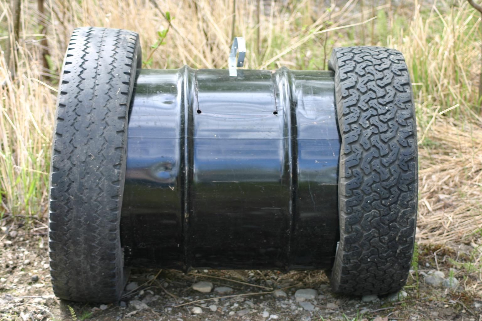 Easy Recycled Compost Barrel