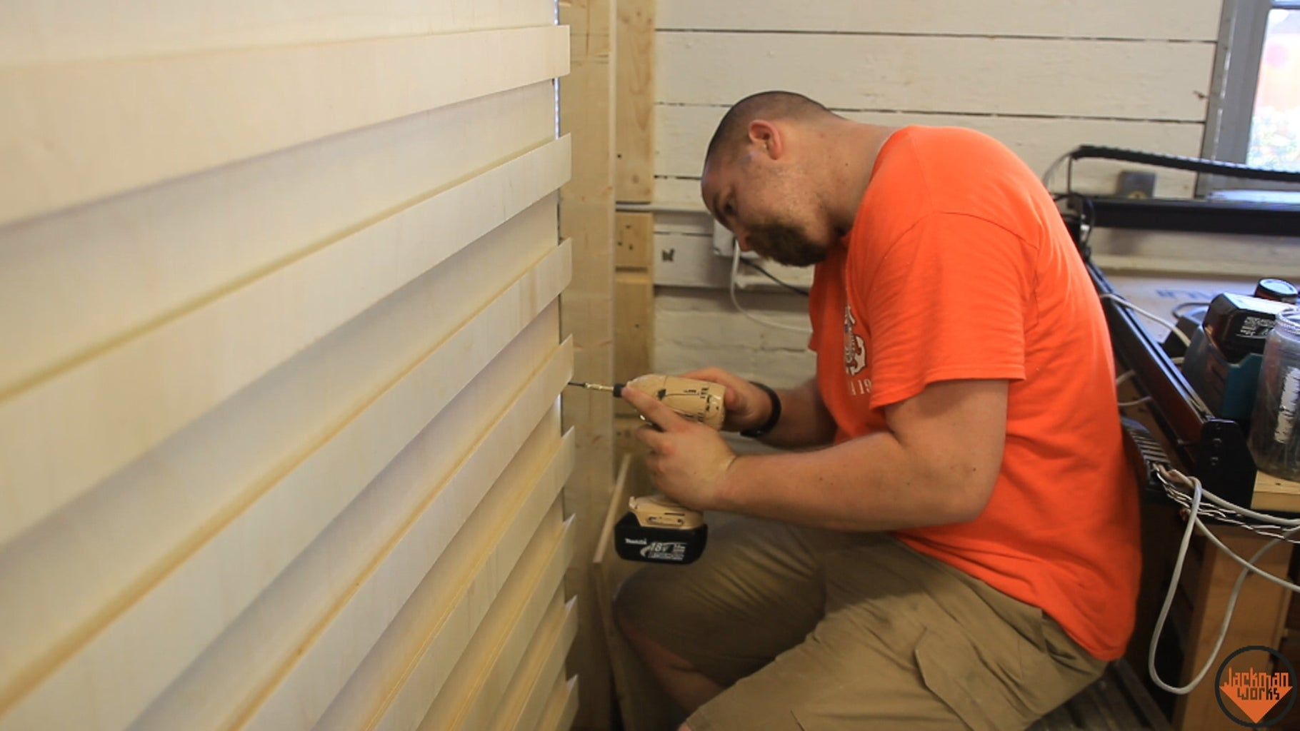 Installing Fench Cleat Panels