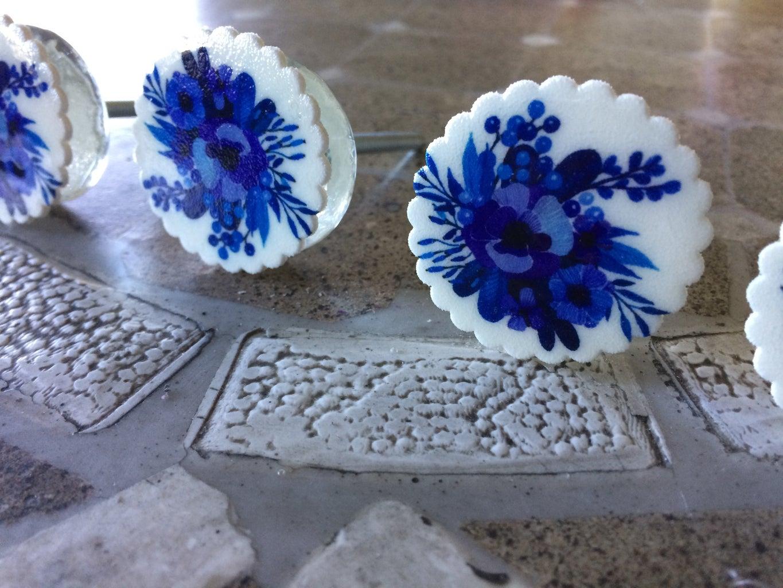 Glass Marble Knob