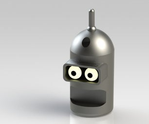 How to Make a 3D Printed Bender Keychain!