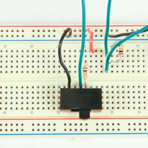 Wire the Toggle Switch
