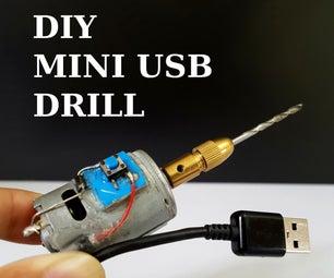 How to Make Mini USB Drill