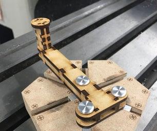 通过4台机器的Archimedes的Trammel