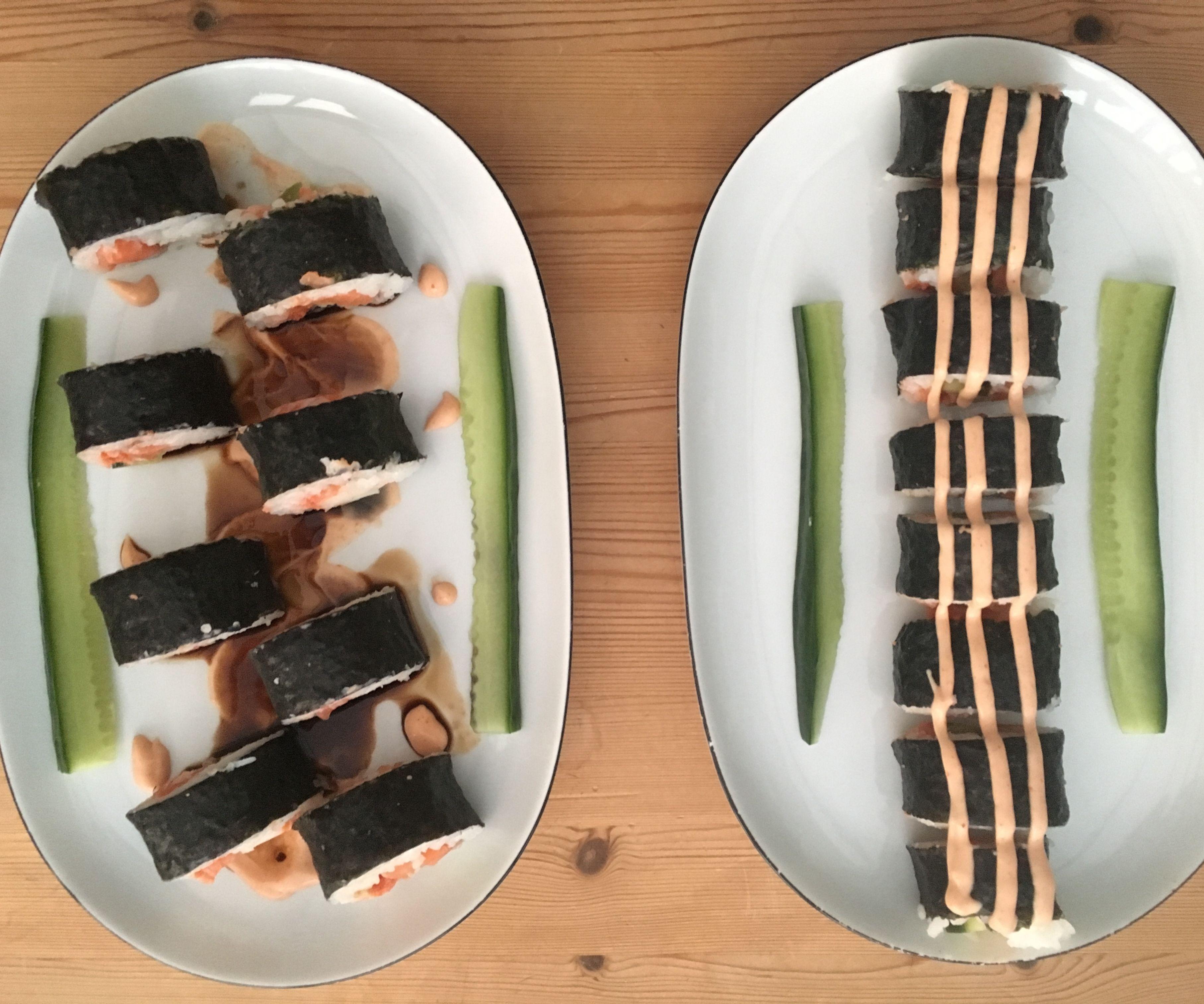 Four Step Sushi