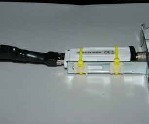 Turn an External USB DVB-T Dongle Into an Internal One