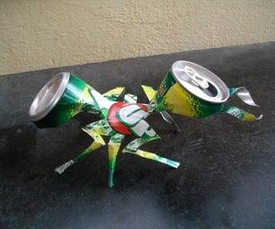 Aluminum Can Ant