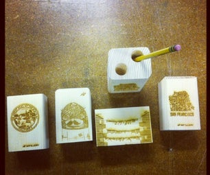 MAKING SUPER COOL PENCIL HOLDERS