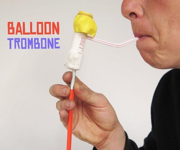 Balloon Trombone