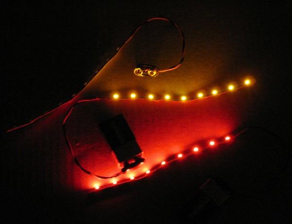 Quick LED Pumpkin Lighting