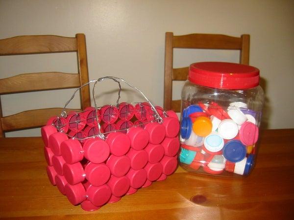 Bottle Cap Basket