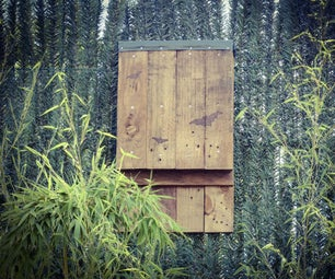 Bat House From Pallet