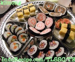 Pretty Sushi Platter