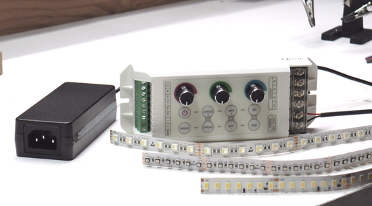 Soldering RGBW and RGB LED Strip Tape