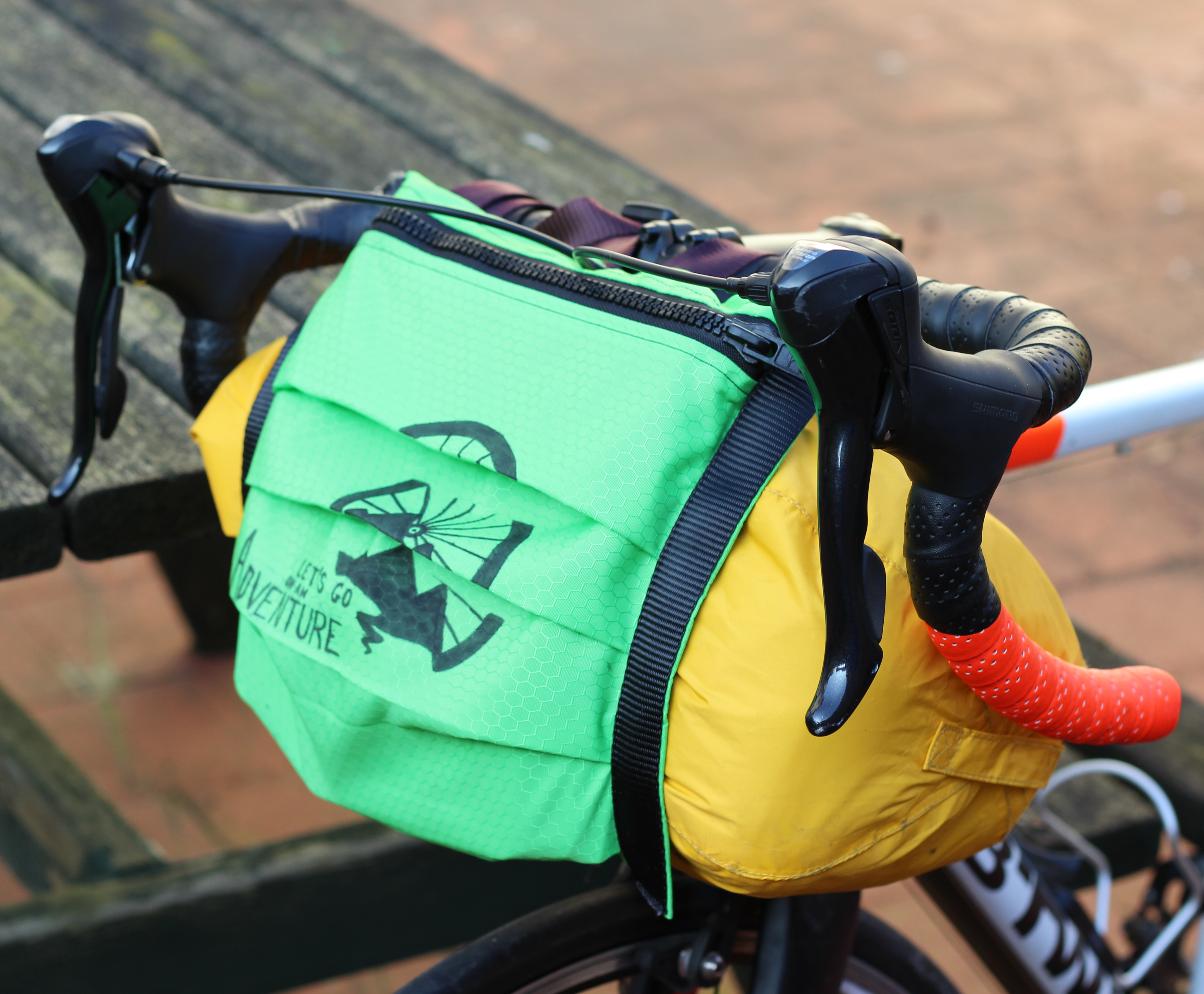Diy Bikepacking Handlebar Bag 8 Steps With Pictures Instructables