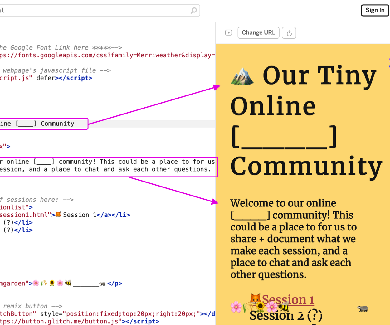 Creating Your Own Tiny Online Community