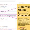 Tiny Online Community