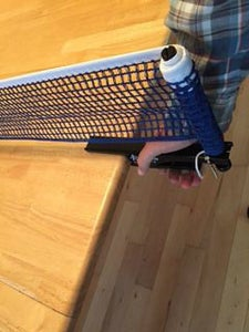 Clip the Net to the Table...and Play!