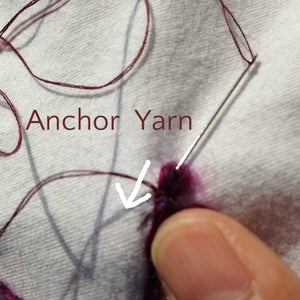 Couching Yarn Work - It's Easier Than It Sounds...