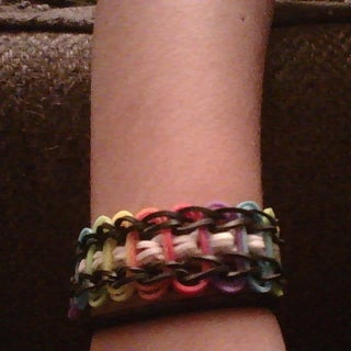 How to Ladder Loom Bracelet