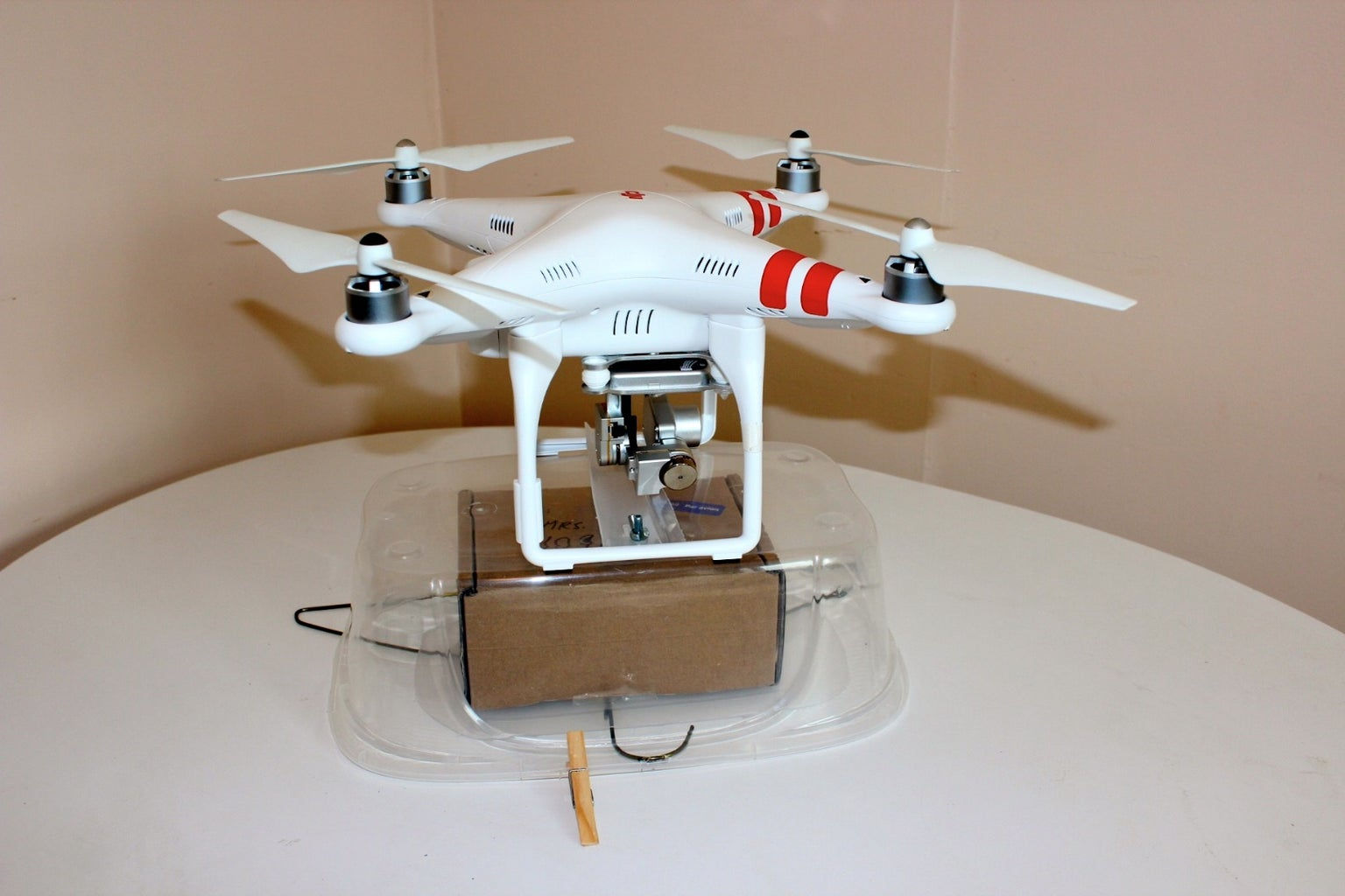 Two Simple Drone Delivery Systems