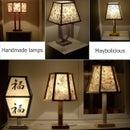 How to make handmade night lamps.