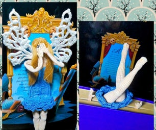 Crochet Fairy Bookmark