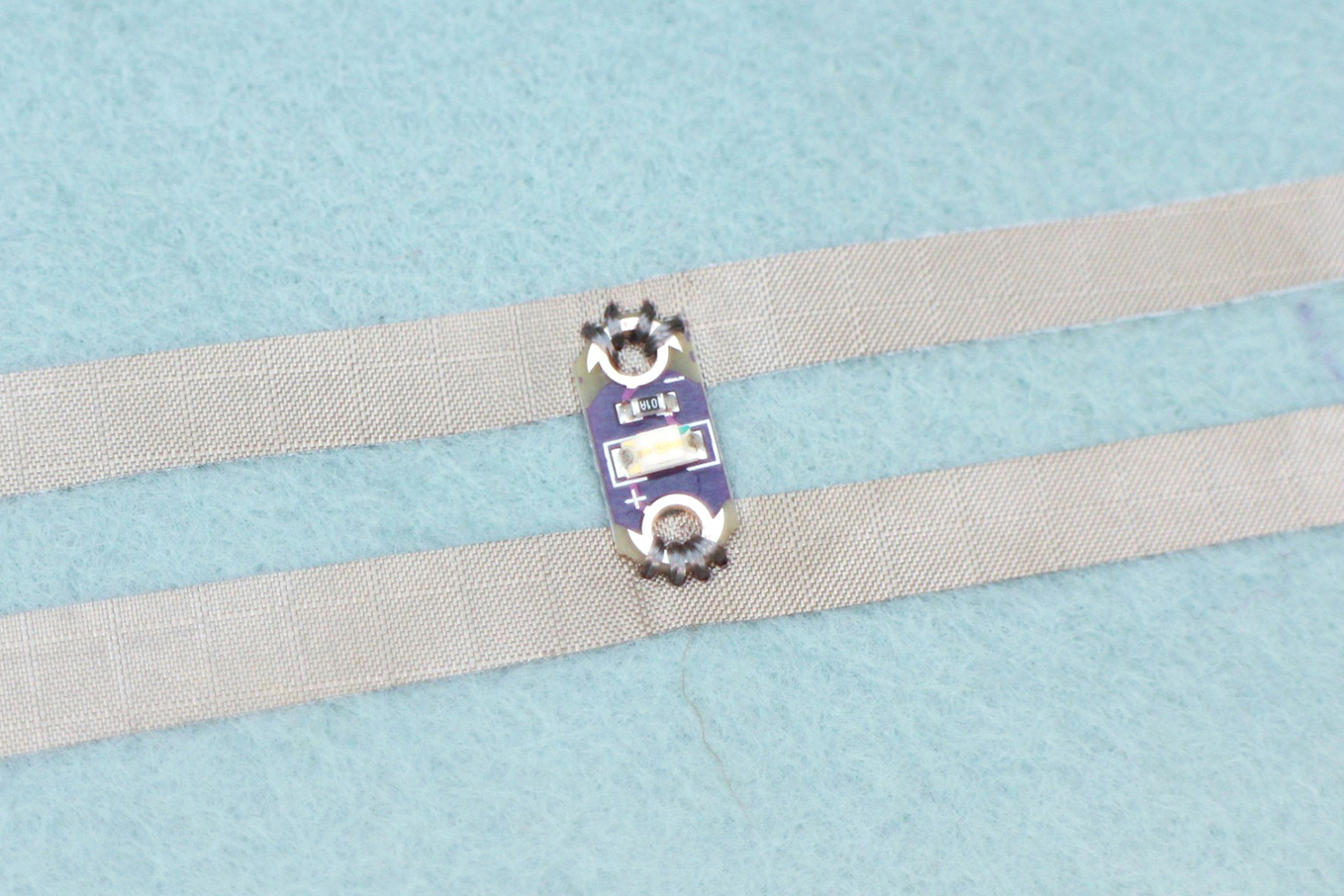 Sew A Circuit Above Short To Ground Correct This Is An Led With No Occurring Between Power And