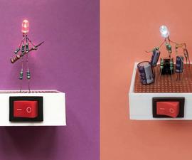 LED Sculpture: Let's Build an LED Man!